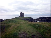 NT4999 : Lady's Tower, Sauchar Point, Elie by John Sparshatt