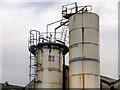 SJ8598 : Fuel Storage Tanks, MG Gas Products by David Dixon