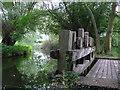 SP1258 : Weir on the Alne by Nigel Mykura