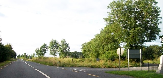 Junction of the R162 (Navan/Kingscourt) Road at Mullens Cross Roads, Co. Meath