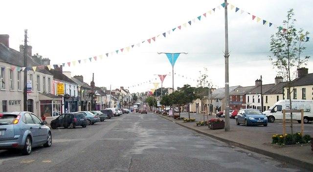 View north along Main Street, Kingscourt