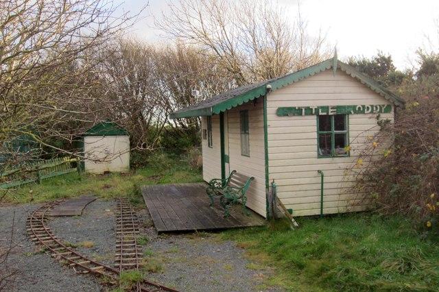 "The ""Little Hoddy"" miniature Railway Station"