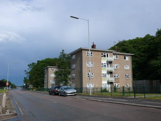 Blocks of Flats on Charter Avenue
