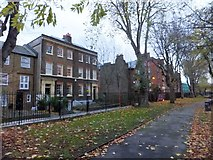 TQ3581 : Semi-detached house in Stepney Green and garden by David Smith