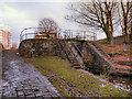 SJ8698 : Ashton Canal, Lock 6 by David Dixon