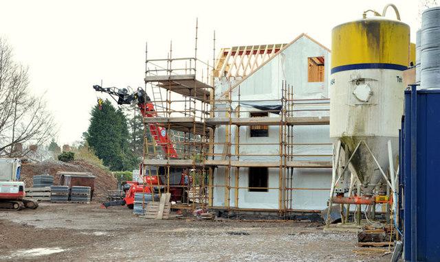 New social housing, Dunmurry