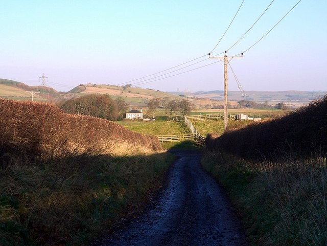 Track east of South Middleton