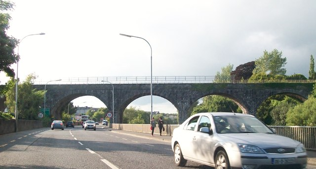 The Navan Railway Viaduct from the R147
