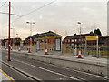 SJ8998 : Metrolink Construction, Cemetery Road Tramstop by David Dixon