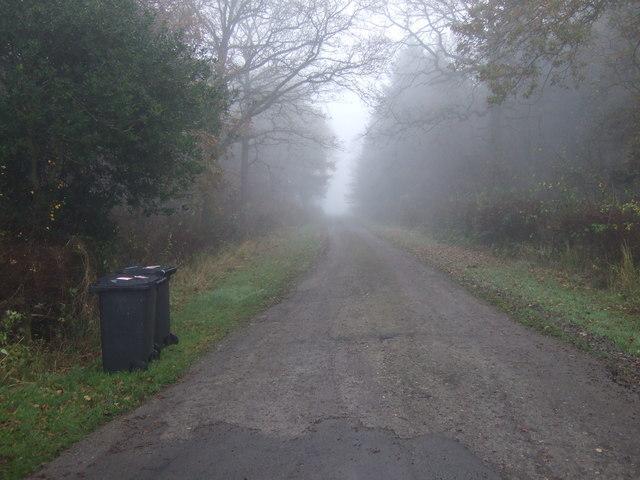Track to Eastfields Farm