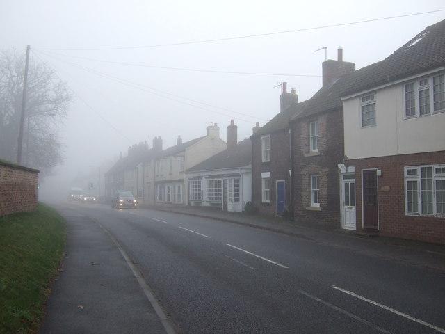 Northallerton Road through Great Smeaton