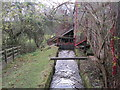 NY5635 : Mill Race, Little Salkeld Mill by Les Hull
