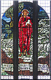 TQ1472 : All Saints, Campbell Road - Stained glass window by John Salmon