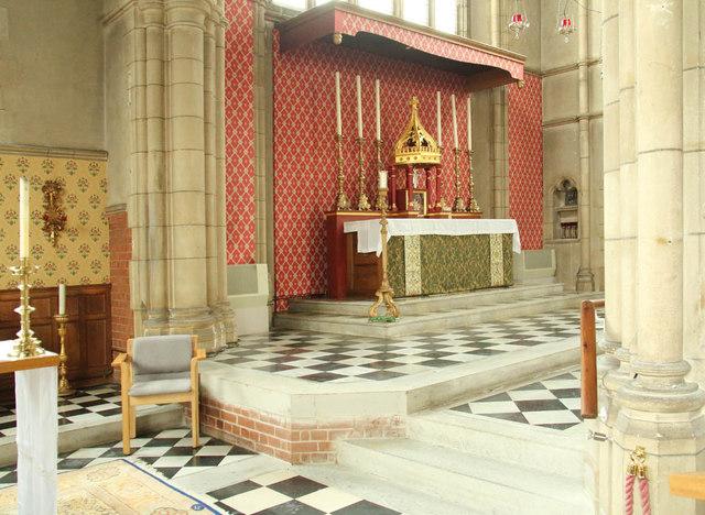 All Saints, Campbell Road - Sanctuary