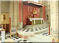 TQ1472 : All Saints, Campbell Road - Sanctuary by John Salmon