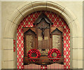TQ1472 : All Saints, Campbell Road - War Memorial by John Salmon