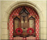 TQ1472 : All Saints, Campbell Road - War Memorial by John Salmon