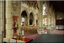 TQ1472 : All Saints, Campbell Road - Interior by John Salmon