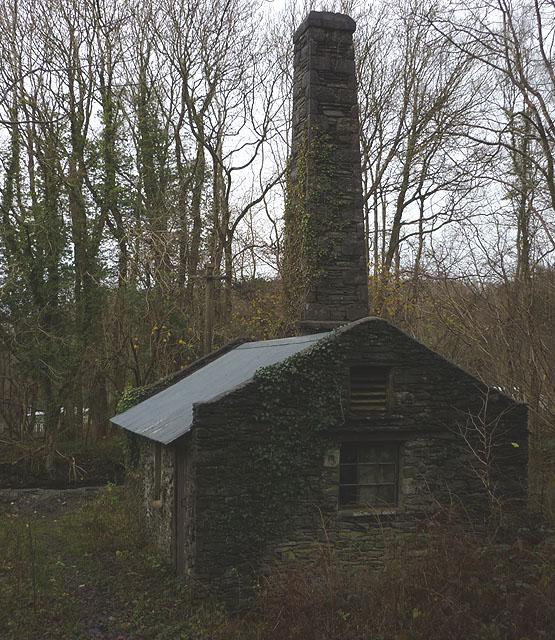 Boiler House, former gunpowder works at Low Mill
