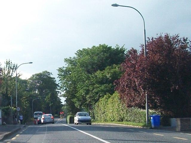 View north along Dublin Road, Navan