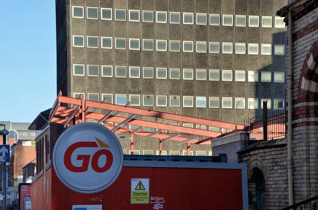 New petrol station, Belfast (2)