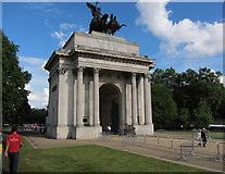 TQ2879 : Wellington Arch, Hyde Park Corner by Hugh Venables