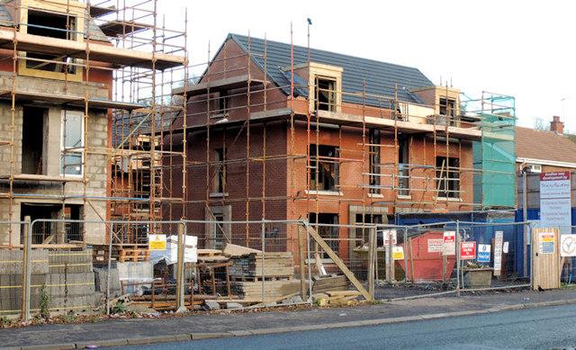 New social housing, Sydenham, Belfast (1)