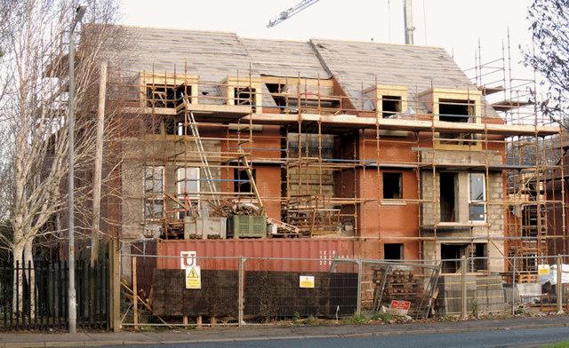 New social housing, Sydenham, Belfast (2)