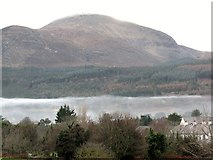 J3731 : Radiation fog forming over the Tullybrannigan area of Newcastle by Eric Jones