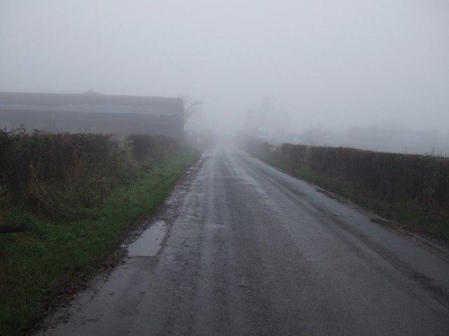 Neasham Hill heading west