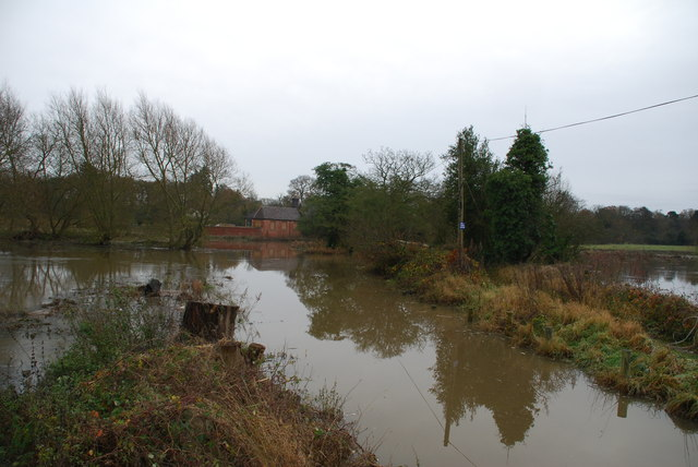 Ford on the River Blythe at Little Packington