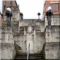 SJ8990 : Plaza Steps by Gerald England