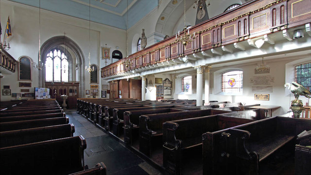St Mary, Church Street, Twickenham - North gallery
