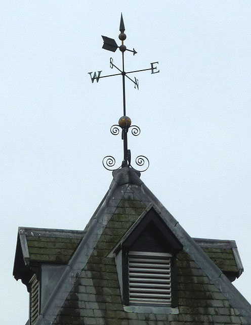 Weather vane on the Clock Tower, Low Wood
