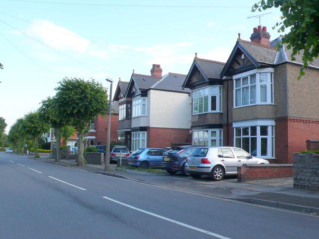 Houses on Stoke Green