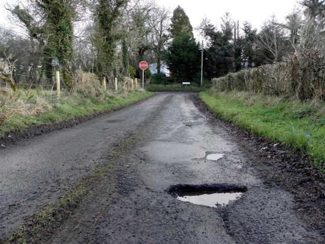 Pothole, Killycurragh