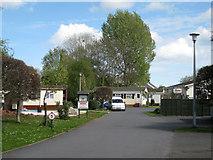 SX8672 : Park homes, Oakymead Park by Robin Stott