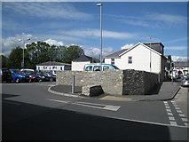 SX8672 : Entrance to car park, Lidl store, Newton Road by Robin Stott