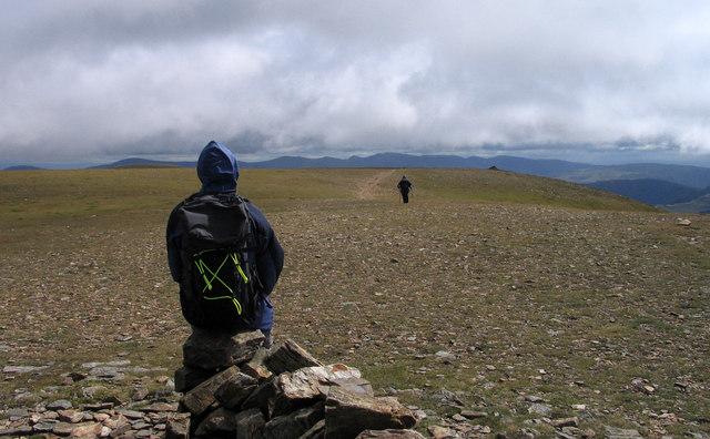 Summit plateau of Grasmoor