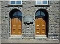 SN5758 : Chapel (detail) at Bwlch-Llan, Ceredigion by Roger  Kidd