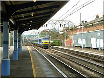 TQ4085 : 09:30 from Liverpool Street non-stop at  Forest Gate by Robin Webster