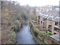 NT2373 : Water of Leith and Sunbury Place by M J Richardson