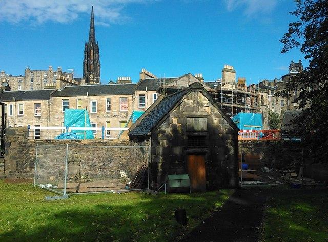Restoration in Progress, Greyfriars Churchyard