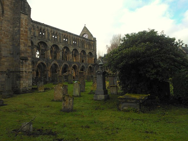 Jedburgh Abbey and Burial Ground