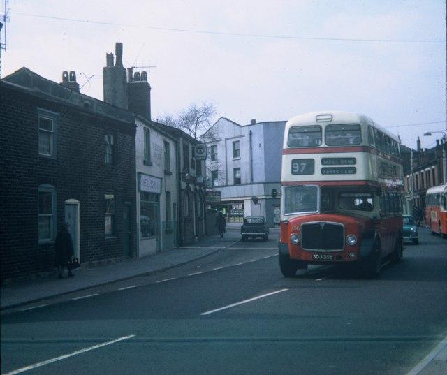 A Double-decker Bus in Prescot