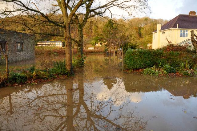 November floods at Umberleigh