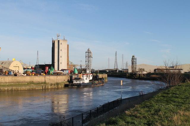 River Witham towards Boston Docks