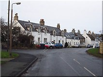 NT8127 : Cheviot Place, Town Yetholm by Richard Webb