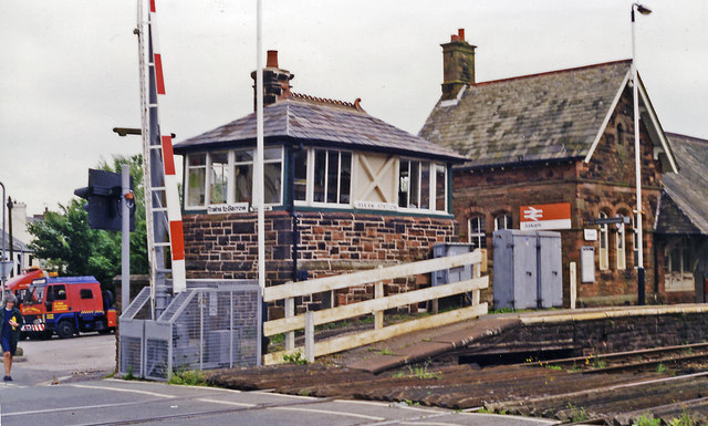 Signal Box, Askam Station