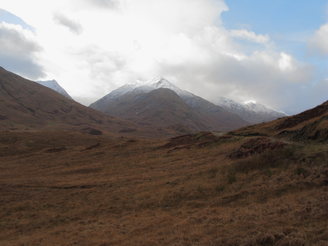View towards Sgurr Thuilm